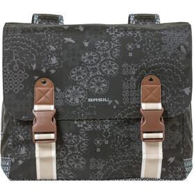 Basil Bohème Doppel-Gepäckträgertasche 35l charcoal